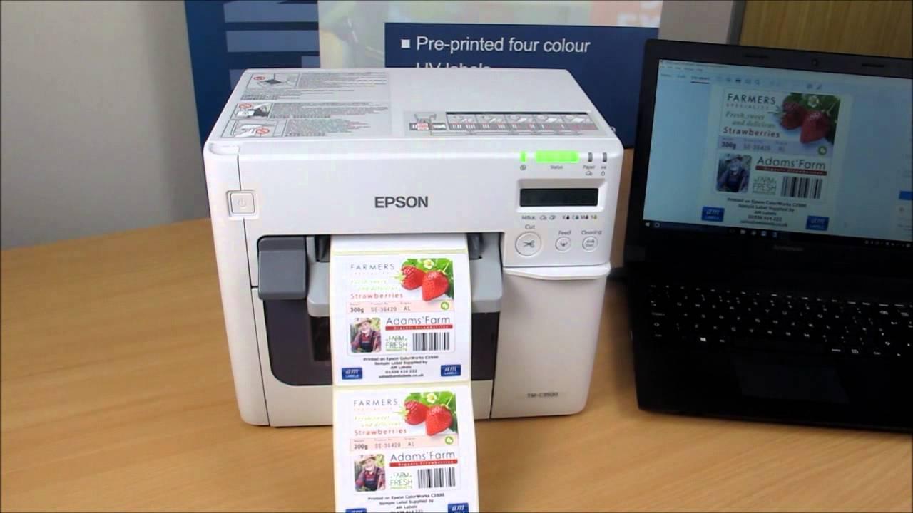Impresora de Etiquetas Epson ColorWorks TM-C3500